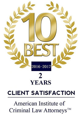 10 Best 2016 Client Satisfaction Criminal Law Attorneys